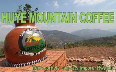 """Koffieverkoop ten voordele van ons project """"opvolging van prematuren in het District HUYE, Rwanda"""""""