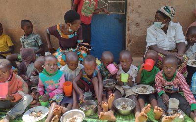 Strijd tegen ondervoeding in Mugogwe